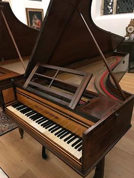 Saint Paul's Studio 1798 Stoddart Fortepiano