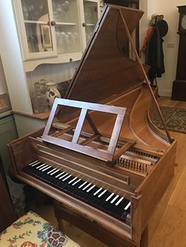 Saint Paul's Studio Michael Thomas Harpsichord