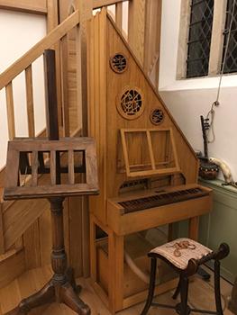 Saint Paul's Studio Peter Collins Chamber Organ