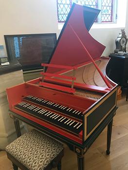 Saint Paul's Studio Robert Deegan Harpsichord