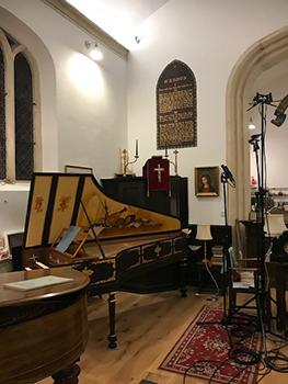 Saint Paul's Studio Recording Setup
