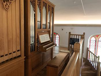 Saint Paul's Studio Vincent Woodstock Organ